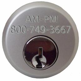 Door Cylinder Aluminum