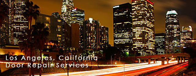 Los Angeles, California Door Repair Service