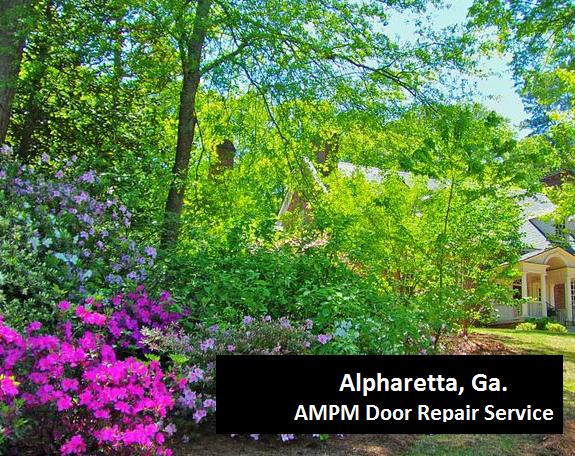 Alpharetta Georgia-commercial-door-repair-installation
