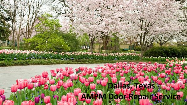 Dallas, texas in the Springtime